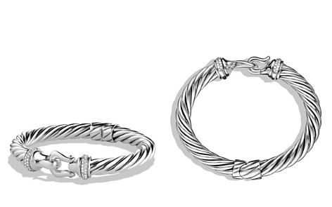 David Yurman Buckle Cable Bracelet with Diamonds - Bloomingdale's_2