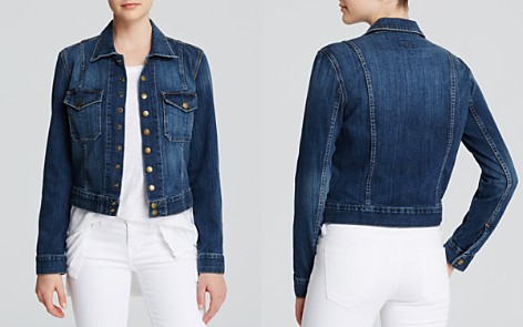 Current/Elliott Jacket - The Snap Jacket in Loved Wash - Bloomingdale's_2