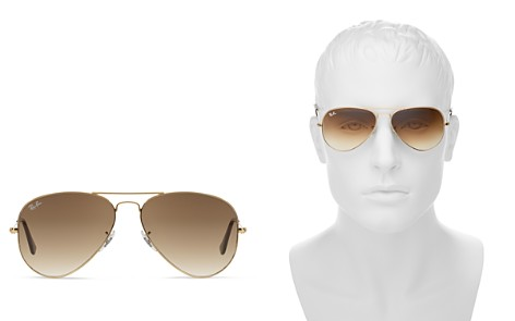 Ray-Ban Unisex Original Aviator Sunglasses, 58mm - Bloomingdale's_2