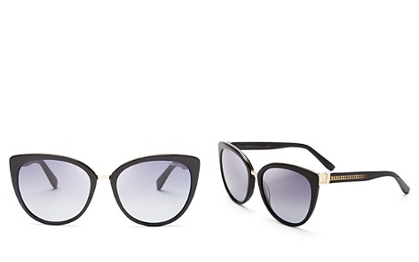 Jimmy Choo Dana Cat Eye Sunglasses, 56mm - Bloomingdale's_2