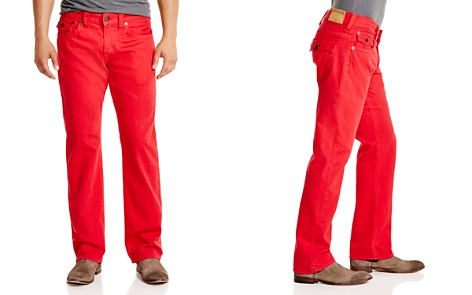 True Religion Ricky Relaxed Fit Jeans in True Red - Bloomingdale's_2