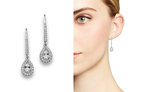 Diamond Drop Earrings in 14K White Gold, .50 ct. t.w. - 100% Exclusive - Bloomingdale's_2