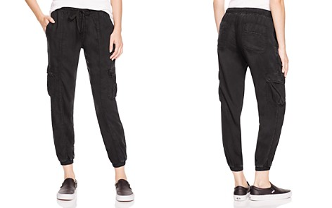 Bella Dahl Cropped Cargo Track Pants - Bloomingdale's_2