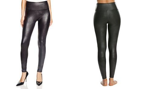 SPANX® Faux Leather Leggings - Bloomingdale's_2
