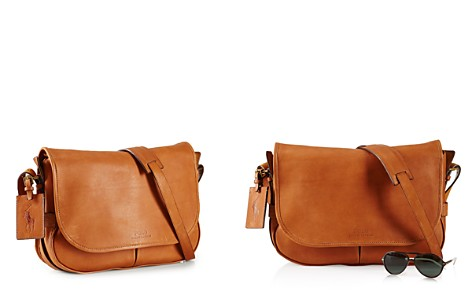 Polo Ralph Lauren Core Leather Messenger Bag - Bloomingdale's_2