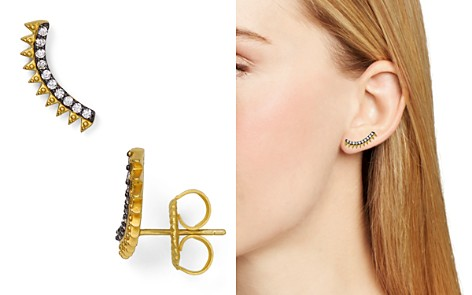 Fredia Rothman Spiked Ear Climbers - Bloomingdale's_2