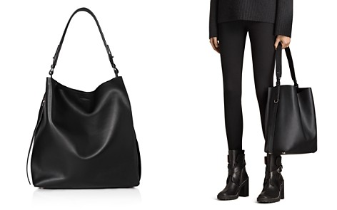 ALLSAINTS Kepi North/South Leather Hobo - Bloomingdale's_2