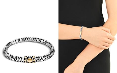 John Hardy Sterling Silver & 18K Bonded Gold Dot Medium Chain Bracelet - Bloomingdale's_2