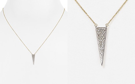 "Adina Reyter Diamond Pavé Triangle Necklace, 17"" - Bloomingdale's_2"