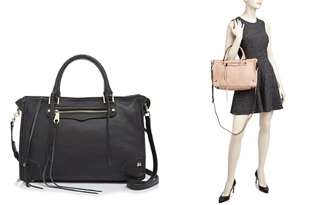 Rebecca Minkoff Regan Leather Satchel - Bloomingdale's_2