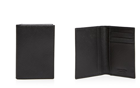The Men's Store at Bloomingdale's Saffiano Folding Card Case - 100% Exclusive_2