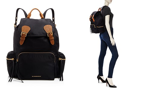 Burberry Medium Nylon Backpack - Bloomingdale's_2