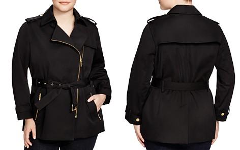 MICHAEL Michael Kors Plus Zip Trench Coat - Bloomingdale's_2