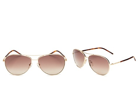 e4b6bc9472c MARC JACOBS Women s Brow Bar Aviator Sunglasses