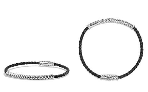 David Yurman Cable Leather Bracelet in Black - Bloomingdale's_2