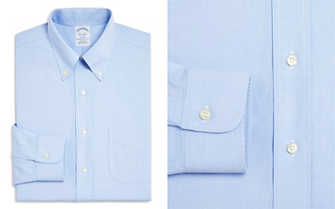 Brooks Brothers Pinpoint Non-Iron Classic Fit Button-Down Dress Shirt - Bloomingdale's_2