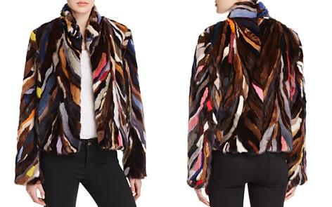 Maximilian Furs Multicolored Saga Mink Jacket - Bloomingdale's_2