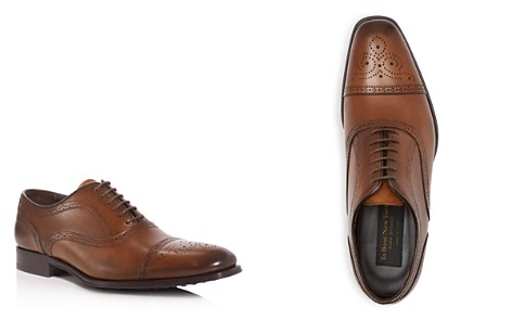 To Boot New York David Leather Medallion Cap Toe Oxfords - Bloomingdale's_2