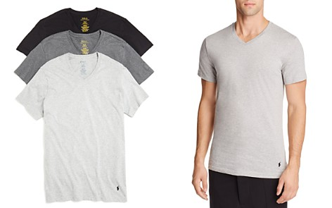 Polo Ralph Lauren Slim Fit Jersey V-Neck Tee, Pack of 3 - Bloomingdale's_2