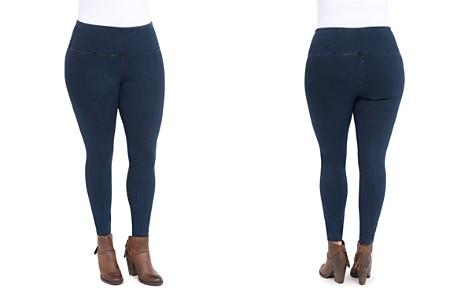 Lyssé Plus Denim-Look Leggings - Bloomingdale's_2