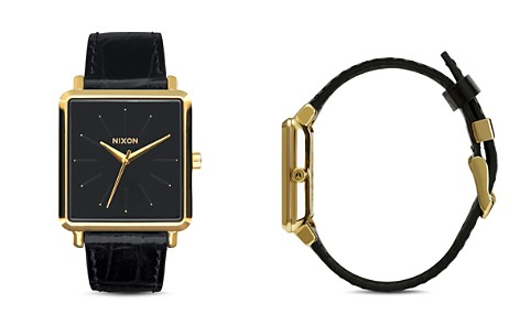 Nixon K Squared Leather Watch, 30mm x 32mm - Bloomingdale's_2