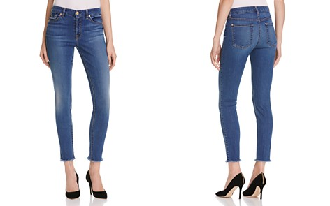 7 For All Mankind Skinny Ankle Jeans in Reign - 100% Exclusive - Bloomingdale's_2
