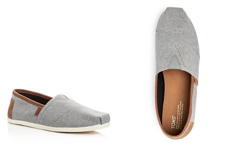TOMS Men's Alpargata Classic Chambray Slip-Ons - Bloomingdale's_2
