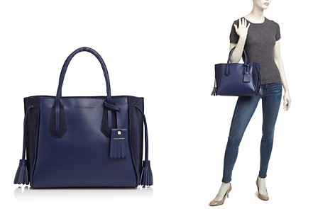 Longchamp Penelope Fantaisie Small Leather Tote - Bloomingdale's_2