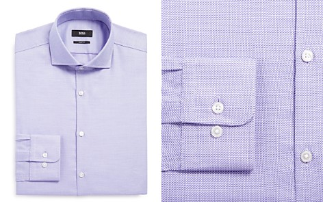 BOSS Mark Sharp Fit – Regular Fit Dress Shirt - Bloomingdale's_2