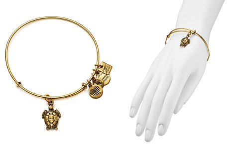 Alex and Ani Sea Turtle Expandable Wire Bangle, Charity by Design Collection - Bloomingdale's_2