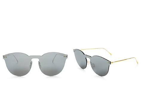 Illesteva Women's Leonard II Mirrored Shield Sunglasses, 60mm - Bloomingdale's_2