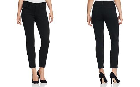 NYDJ Alina Skinny Ankle Jeans in Black Garment Wash - Bloomingdale's_2