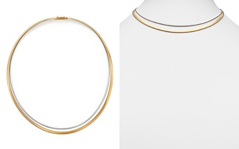 """Marco Bicego 18K Yellow and White Gold Masai Two Strand Collar Necklace, 17"""" - Bloomingdale's_2"""
