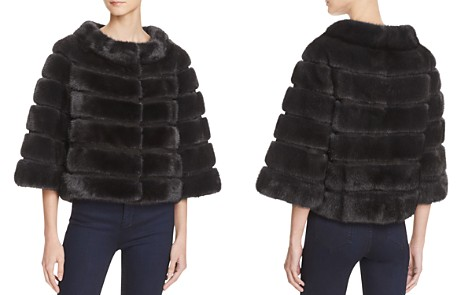 Maximilian Furs Suede Trim Mink Coat - 100% Exclusive - Bloomingdale's_2