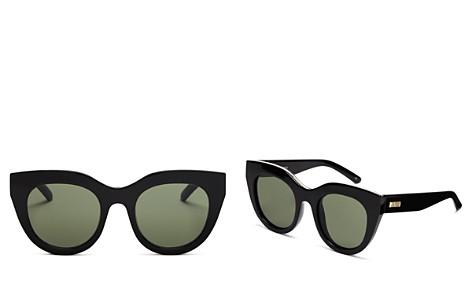 Le Specs Women's Air Heart Cat Eye Sunglasses, 51mm - Bloomingdale's_2
