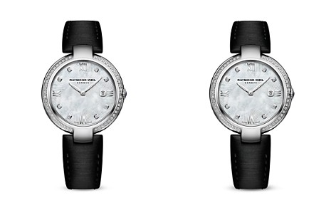 Raymond Weil Shine Mother-Of-Pearl and Diamond Watch, 32mm - Bloomingdale's_2