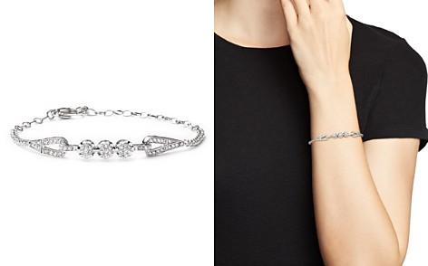 Diamond Cluster Bracelet in 14K White Gold, 1.0 ct. t.w. - Bloomingdale's_2