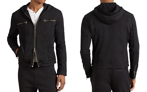 John Varvatos Star USA Hooded Zip-Front Knit Jacket - Bloomingdale's_2