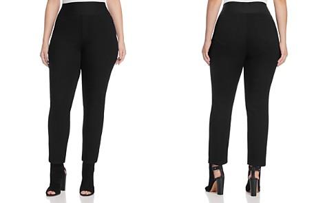 Foxcroft Plus Slimming Pull-On Nina Legging Jeans - Bloomingdale's_2