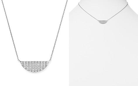 "Dana Rebecca 14K White Gold Jeb Half Moon Necklace with Diamonds, 16"" - Bloomingdale's_2"
