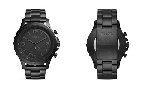 Fossil Q Nate Hybrid Smart Watch, 50mm - Bloomingdale's_2