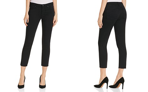 AG Prima Crop Jeans in Black - Bloomingdale's_2
