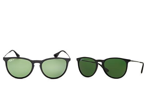 Ray-Ban Polarized Erika Round Sunglasses, 54mm - Bloomingdale's_2