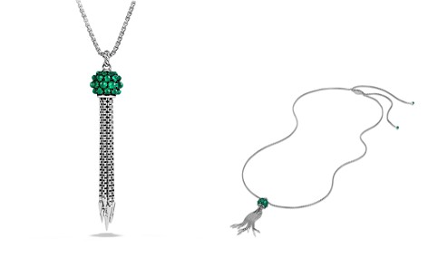 David Yurman Osetra Tassel Necklace with Green Onyx - Bloomingdale's_2