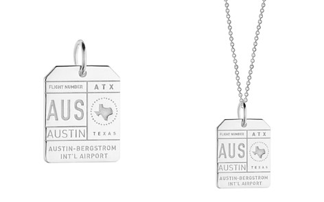Jet Set Candy AUS Austin Luggage Tag Charm - Bloomingdale's_2