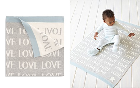 Elegant Baby Infant Boys' Love Knit Blanket - Bloomingdale's_2