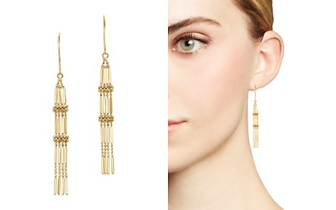 Beaded Chain Tassel Earrings in 14K Yellow Gold - 100% Exclusive - Bloomingdale's_2