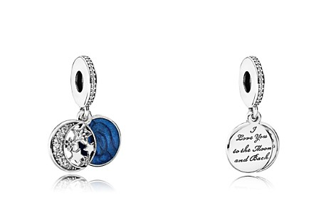 PANDORA Moments Collection Sterling Silver, Blue Enamel & Cubic Zirconia Vintage Night Dangle Charm - Bloomingdale's_2