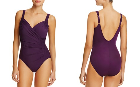 Miraclesuit Must Have Sanibel Ruched One Piece Swimsuit - Bloomingdale's_2