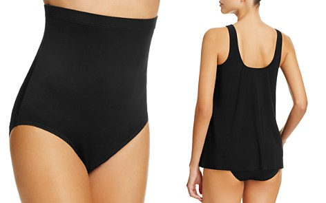 Miraclesuit Solid Super High Waist Tankini Bottom - Bloomingdale's_2